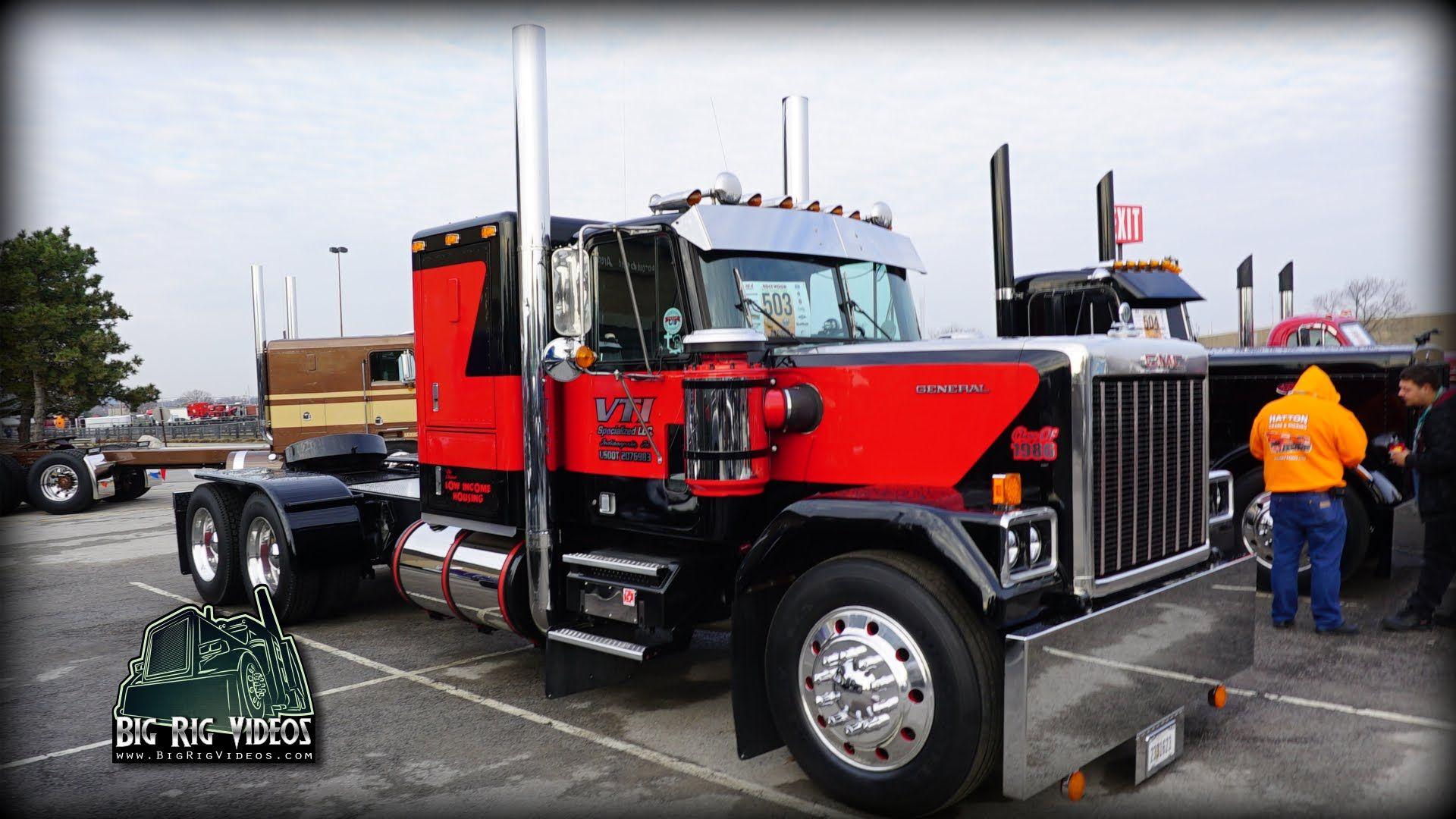 1986 Gmc General Truck Walk Around Trucks Gmc Big Trucks