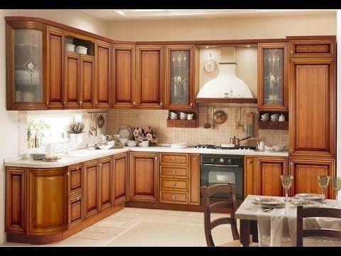 kerala style kitchen cabinet design and styles youtube rh pinterest com