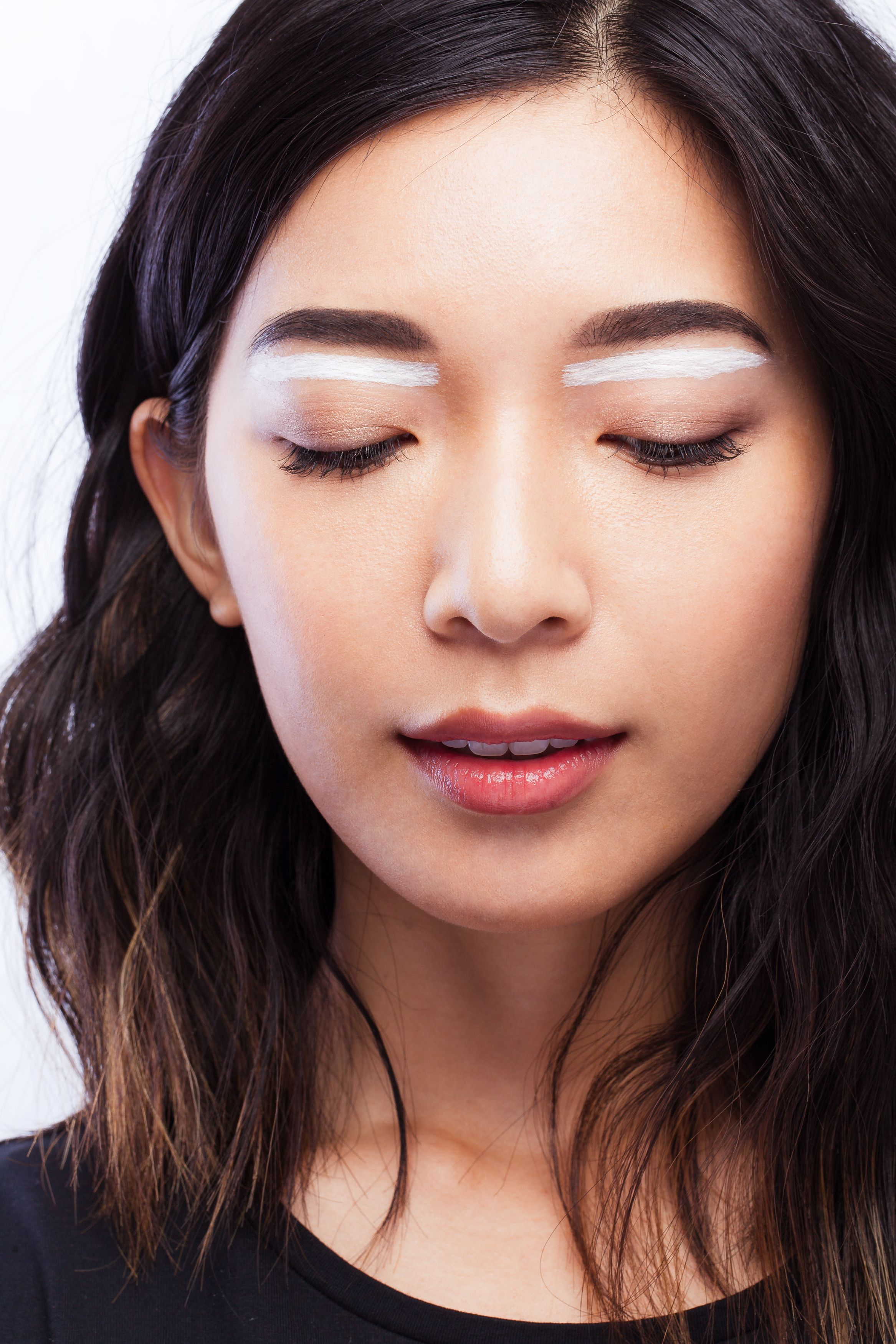 White Lines Eye Makeup by IRIS+WEST LASH•CO. Full sets for