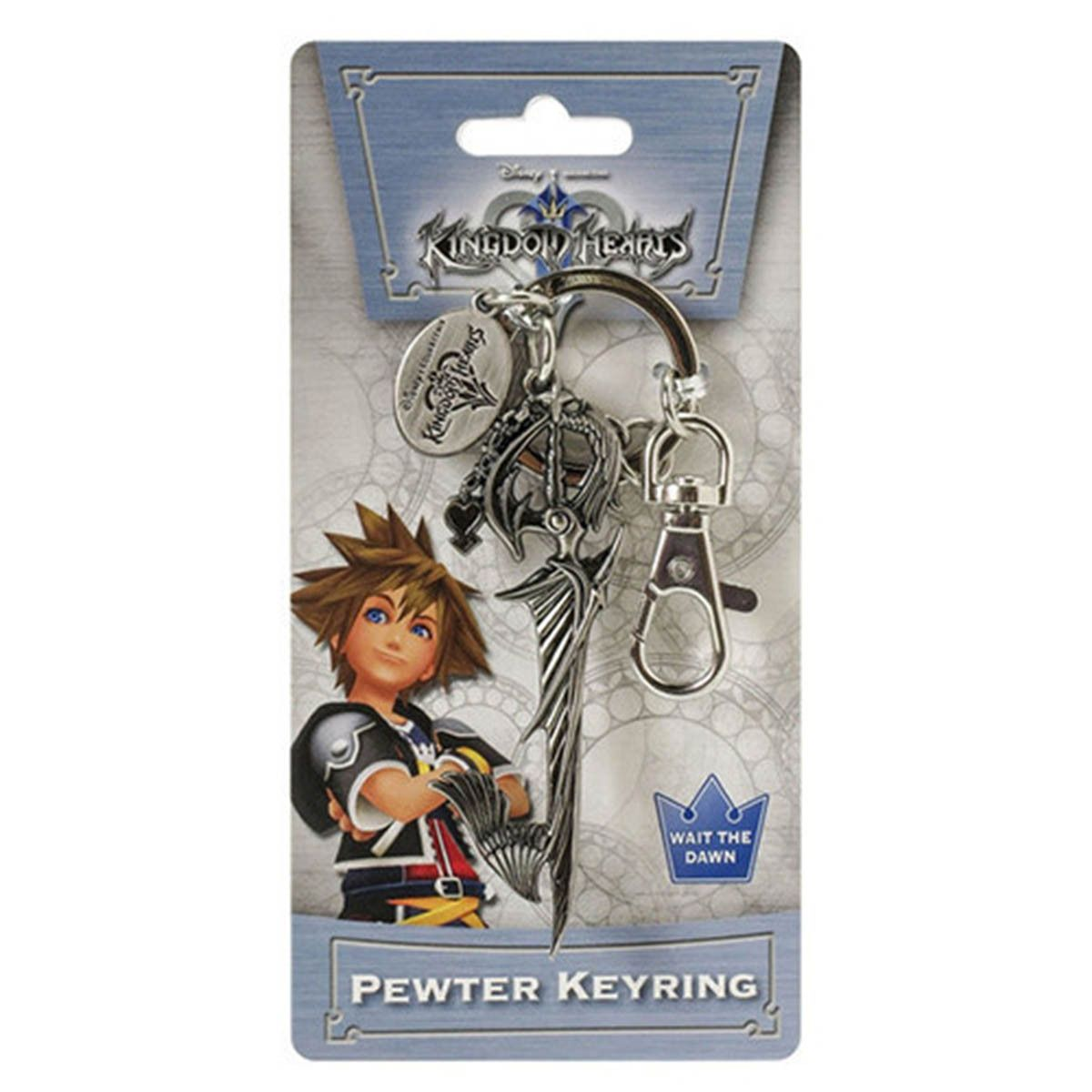 Riku/'s Keyblade Metal Key Chain Kingdom Hearts