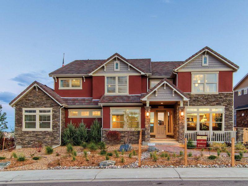 Beispiele für Fassadenfarben Hauswand, Fachwerkhaus pläne