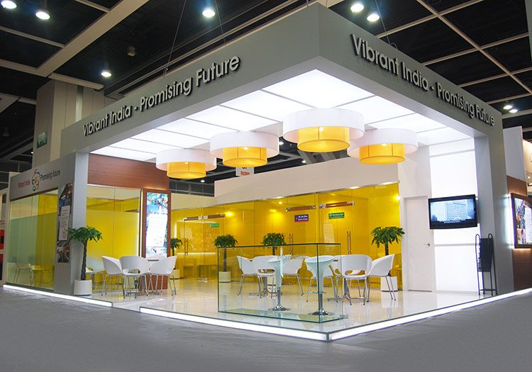 Exhibition Stall Ideas : Custom exhibition stand solution for india banking