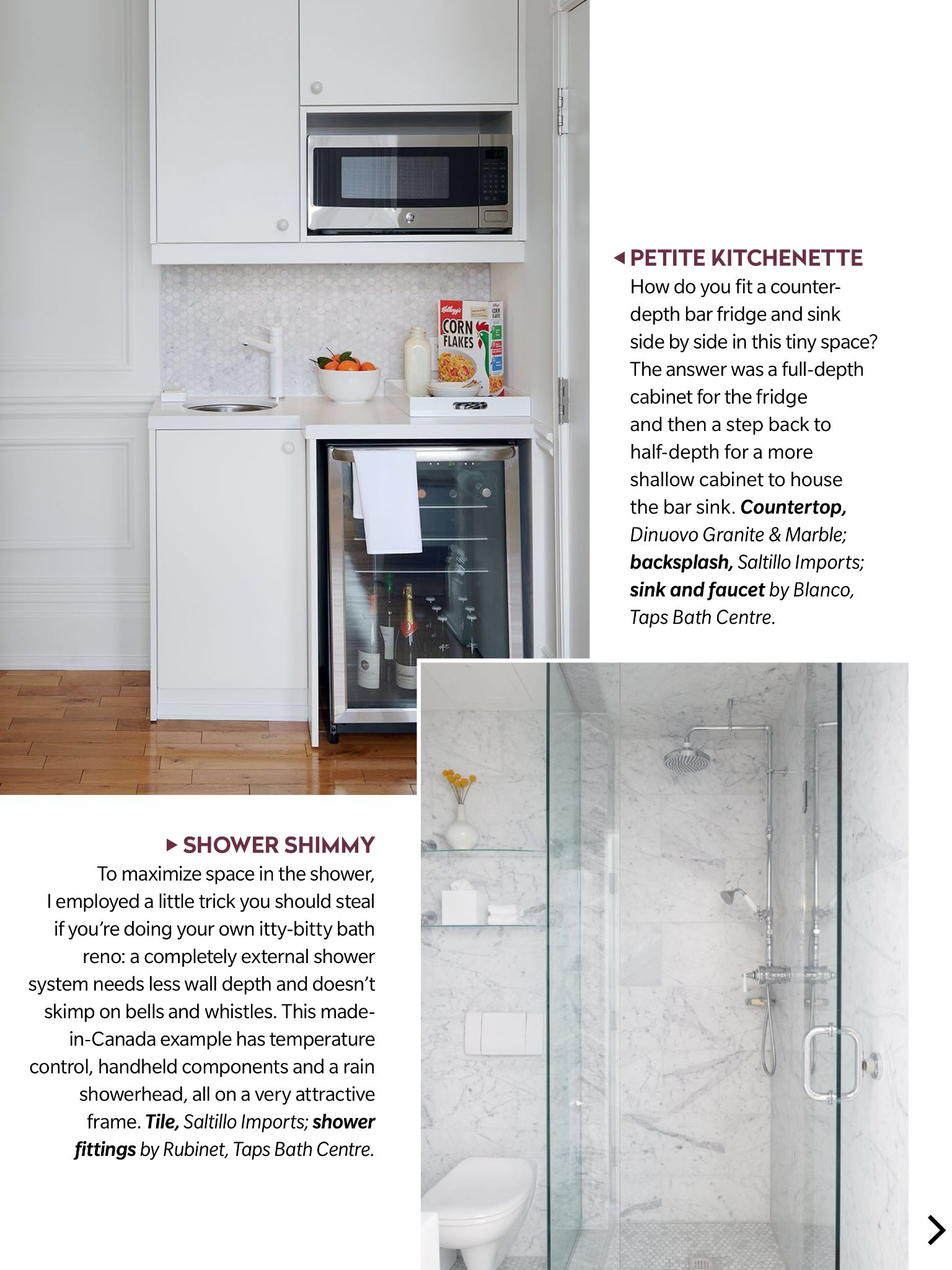 """""""Design Insider"""" from House & Home Magazine, August 2018"""