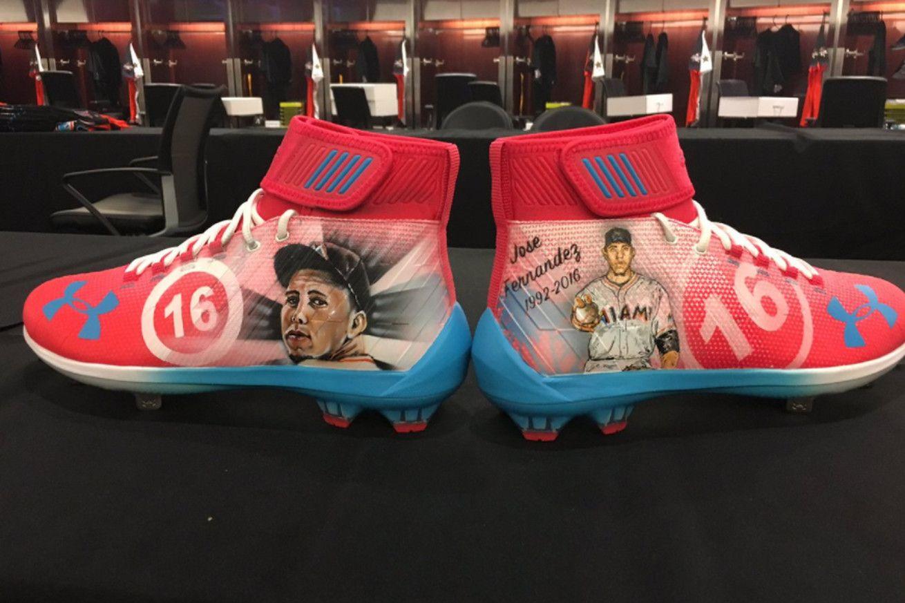 Bryce Harper es que el uso de estos increíbles calas para honrar a José Fernández en el All-Star Game