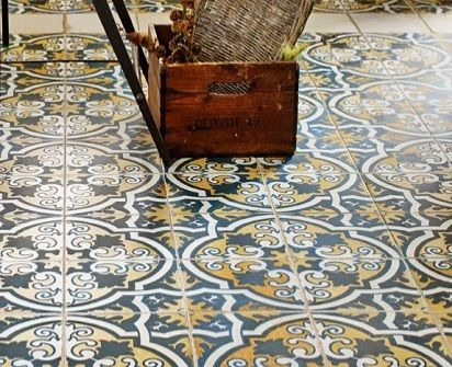 Decorative Vinyl Floor Tiles Victorian Style Lino Flooring  Beste Awesome Inspiration  Sstr