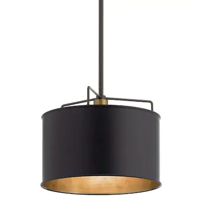Kichler Alcander Olde Bronze Single Transitional Drum Pendant Light At Lowes Com Drum Pendant Lighting Pendant Light Drum Pendant