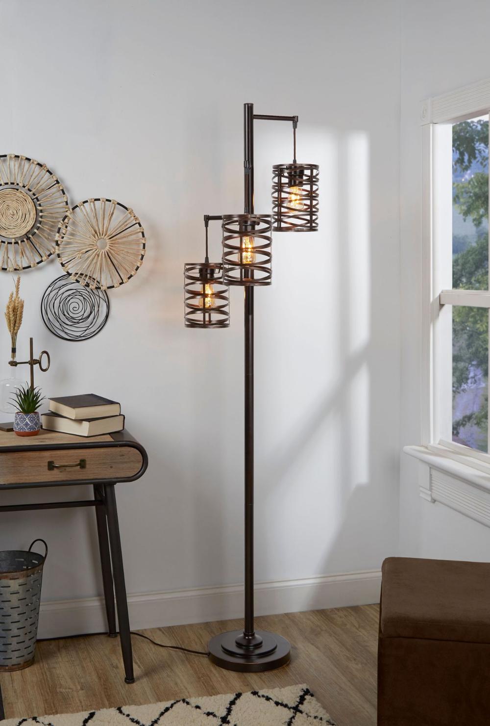 Brady 3 Arm Floor Lamp In 2020 Arm Floor Lamp Floor Lamp Flooring