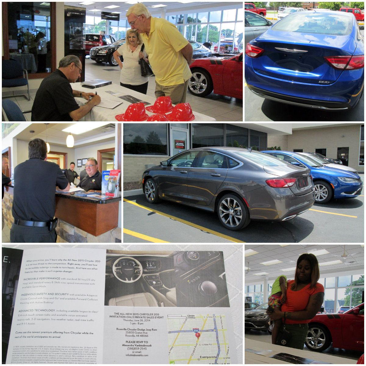 47th Anniversary Tent Sale And The 2015 Chrysler 200 Invitation