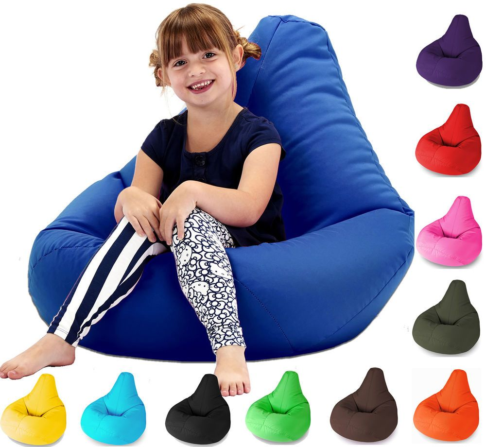 Details about Kids Highback Beanbag seat Gaming Beanbags