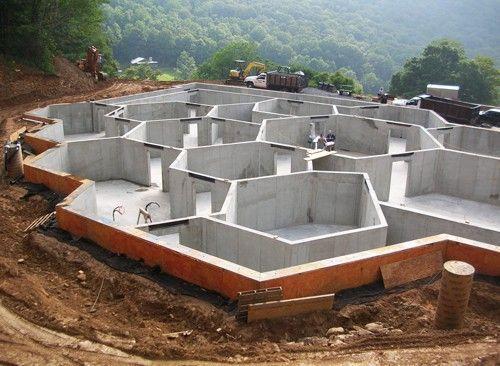 Image result for bunker design   Survival Shelters   Pinterest ... on above ground survivalist compound design, military compound design, self-sufficient compound design, prepper compound design,