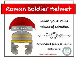 Armor of God: Helmet of Salvation | Bible Class Ideas | Helmet of
