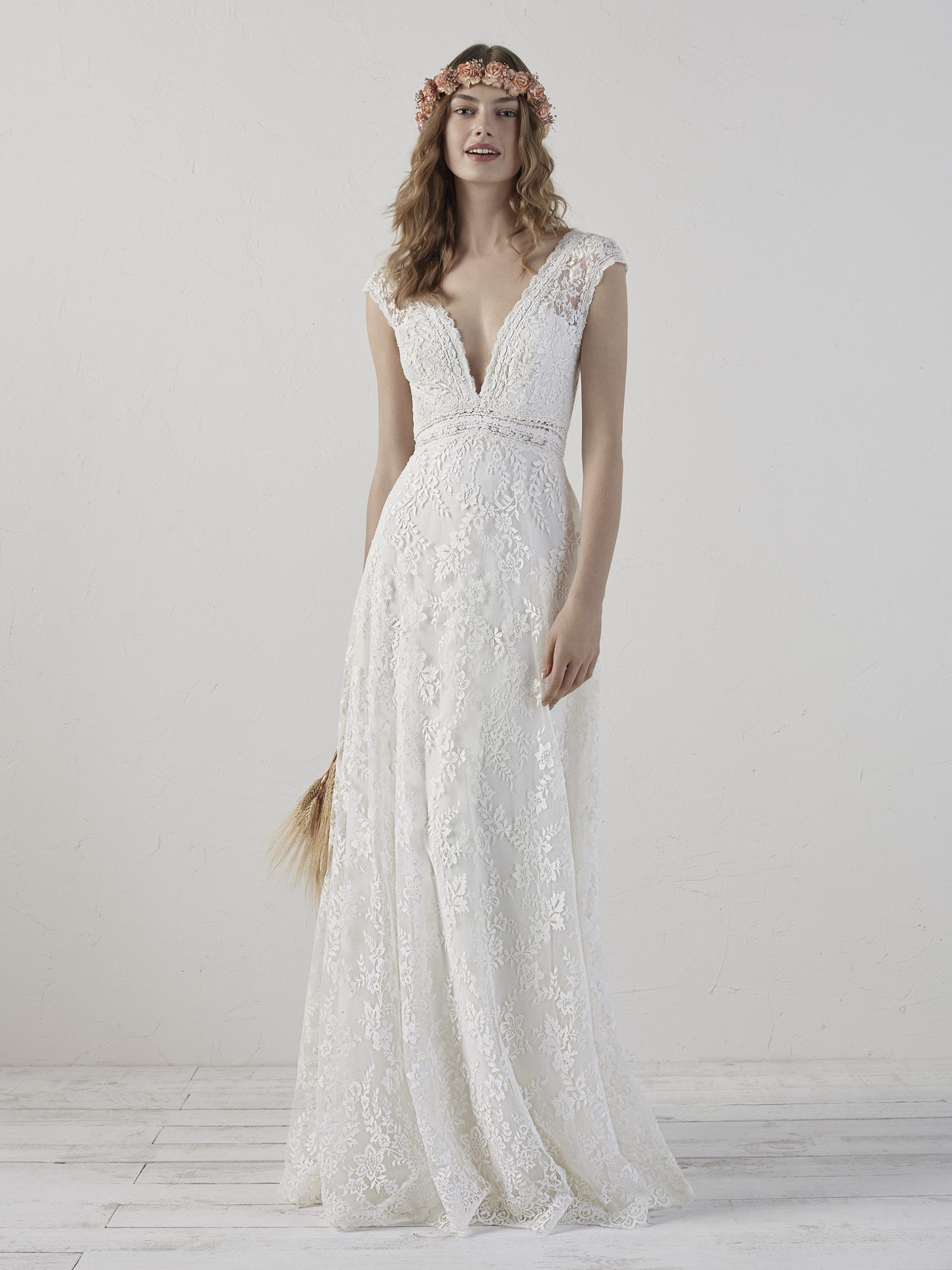 Boho vestido boda – Vestidos populares 2019