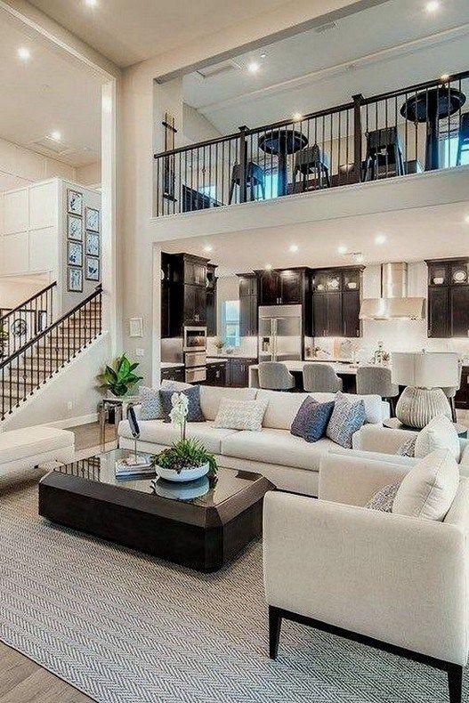 26 Home Design Ideas To Inspire Your Dream House 00025 Open Living Room Design Beautiful Houses Interior Dream Home Design