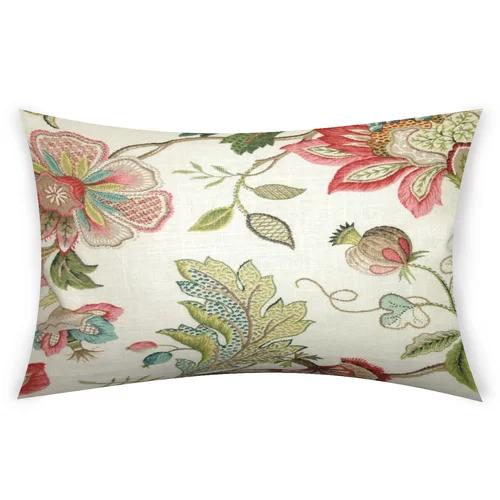Fedler Cotton Lumbar Pillow Lumbar Throw Pillow Throw Pillows Vintage Throw Pillows