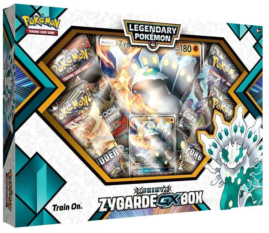 Legendary pokemon gx shiny zygardegx collection pokemon