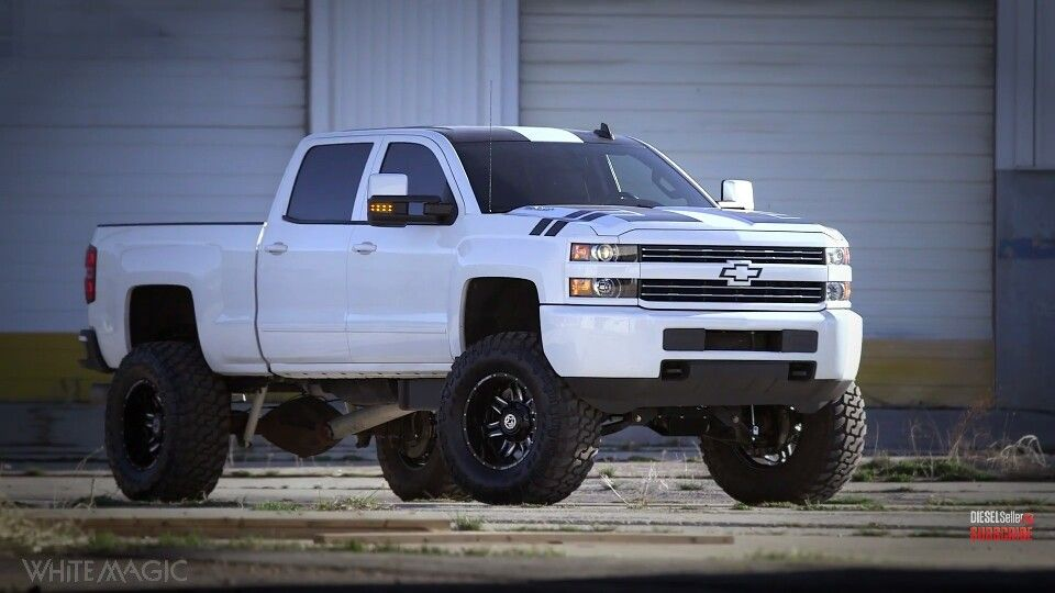 Diesel Brothers Giveaway 2017 >> White Magic Duramax Next Dieselsellerz Giveaway Chevy Gmc
