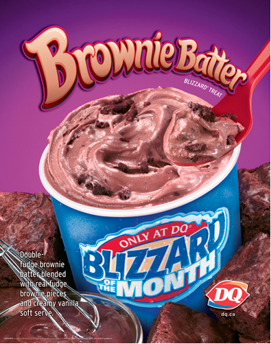 Best Blizzard Flavor This Is To Die For Chocolate Brownies Dq Blizzard Flavors Double Chocolate Brownies