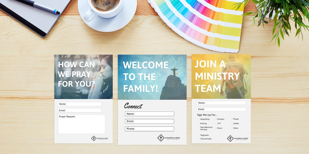 Free Church Connection Cards Beautiful Psd Templates With Regard To Church Visitor Card Template Word Card Template Contact Card Template Id Card Template