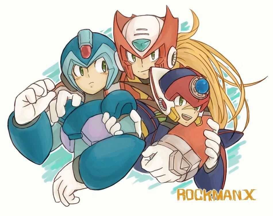 X Looks Like He S Not Enjoying This Very Much I Might Enjoy It More Maybe We Can Switch Places Megamanx Mega Man Art Mega Man Maverick Hunter