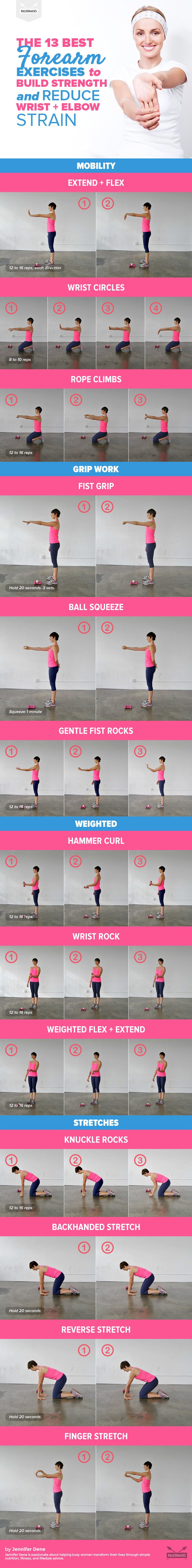 The 13 Best Forearm Exercises To Build Strength Reduce Wrist Strain With Images Easy Yoga Workouts Best Forearm Exercises Forearm Workout