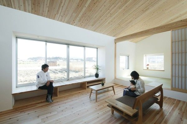 Alts Design Office 768 Sf Japanese Family Small House 005 600x399  Minimalist 778 Sq. Ft. Japanese Family Small House