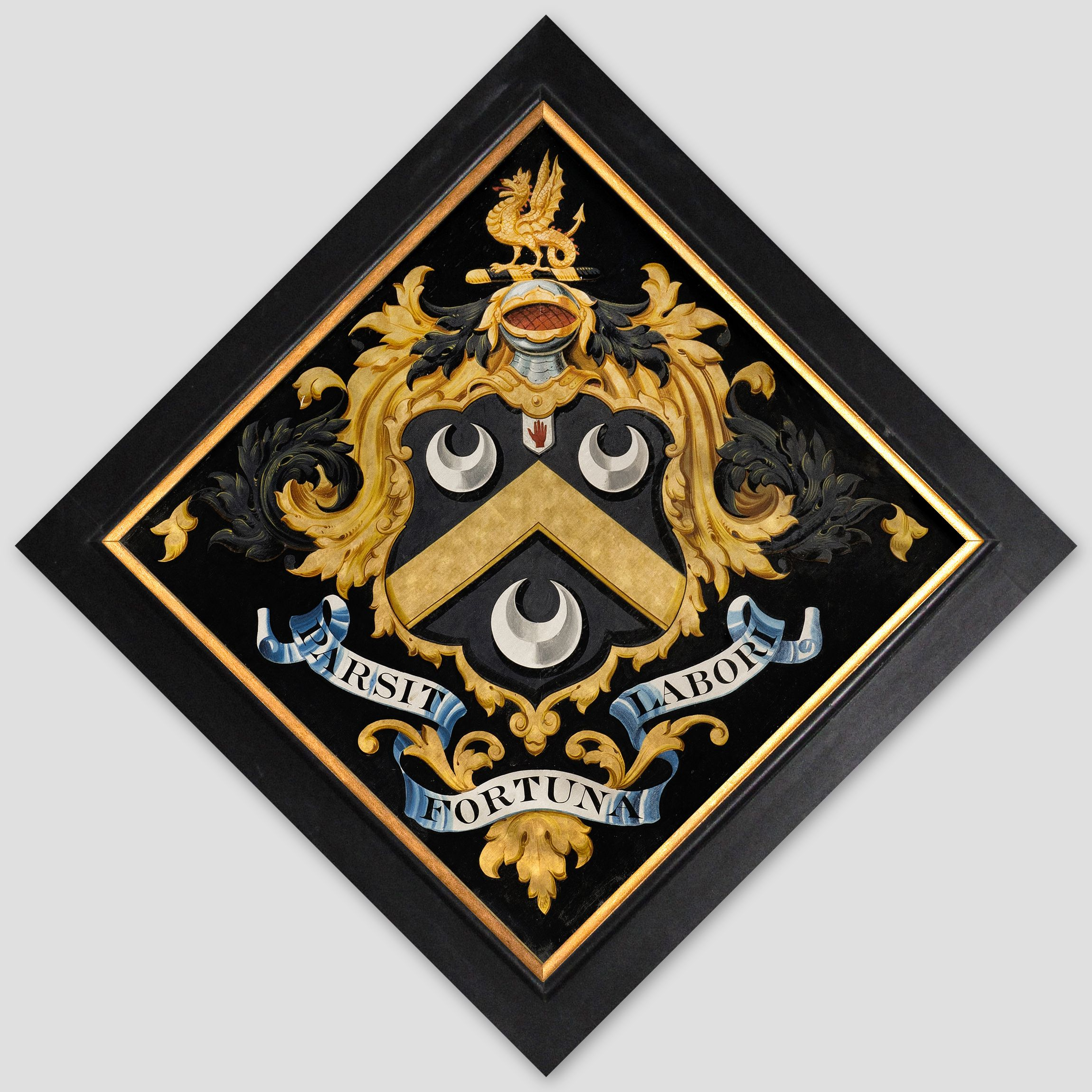 Hatchment in the church of st peter at east carlton northants hatchment in the church of st peter at east carlton northants england biocorpaavc