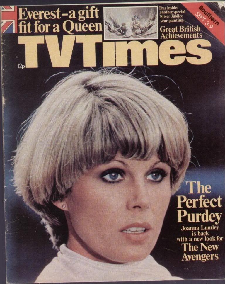 quality design cbd8a b545a Joanna Lumley in The New Avengers. ITV, 1977