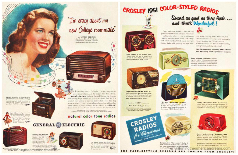 1946 ORIGINAL VINTAGE (GE) GENERAL ELECTRIC RADIO MAGAZINE