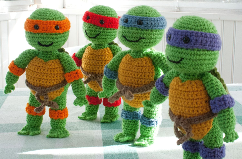 Excelente Ninjas Mutantes Tortugas Adolescentes Patrón Del Sombrero ...