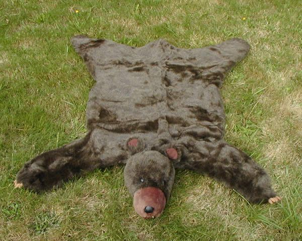 Brown Bear Skin Rug   For Noahu0027s Nursery I Really Want A Faux Bear Skin Rug