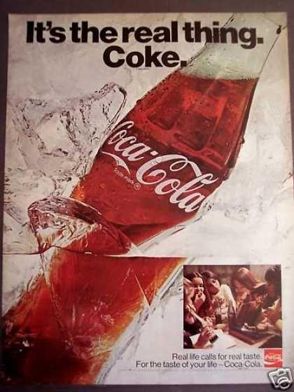 Girls Drinking Coca-cola Soda Coke (1970) | Retro Renovation