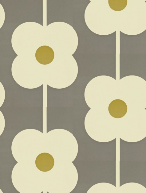 finest giant abacus flower a feature wallpaper from orla kiely featured in the orla kiely. Black Bedroom Furniture Sets. Home Design Ideas