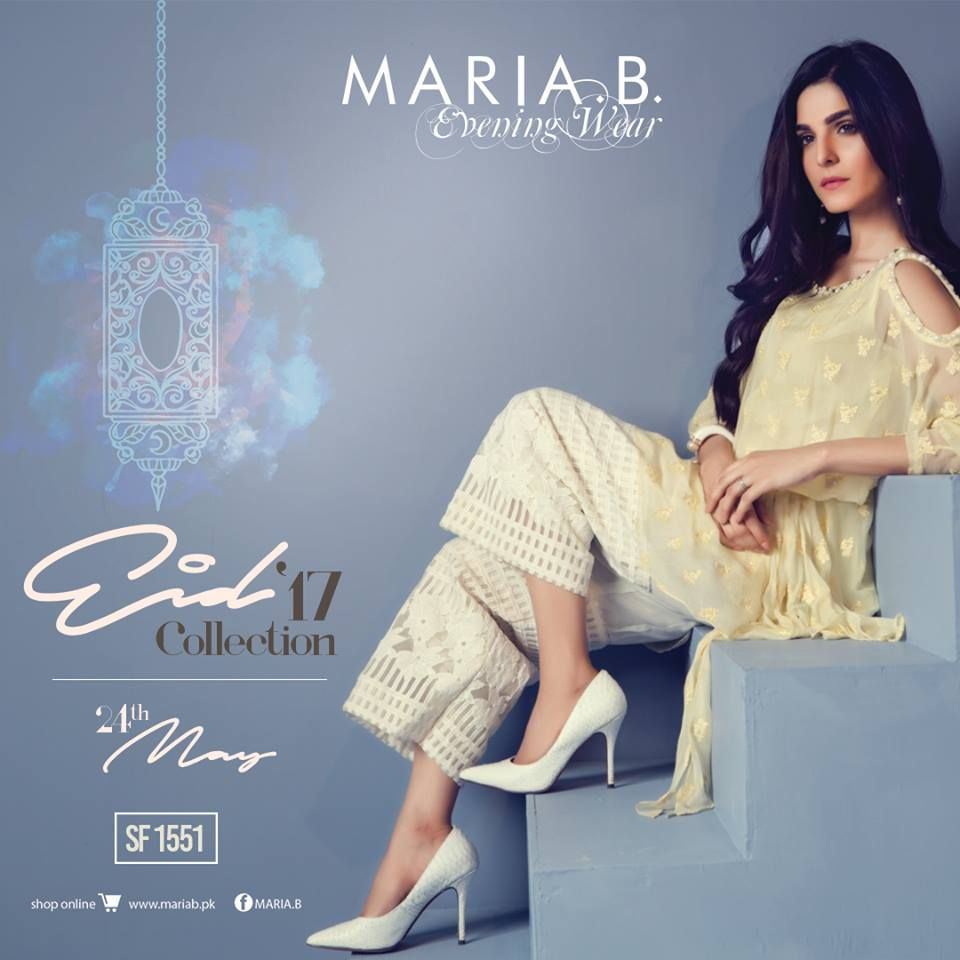 Maria B Eid UL Fitr Collection 2017 Catalog & Pictures | women ...