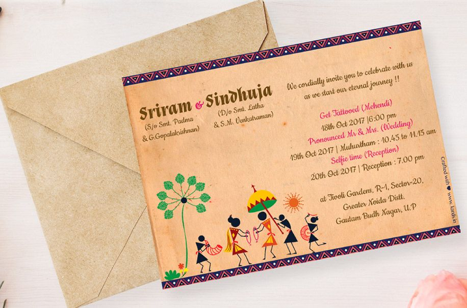 create your own wedding invitation ecards from kards