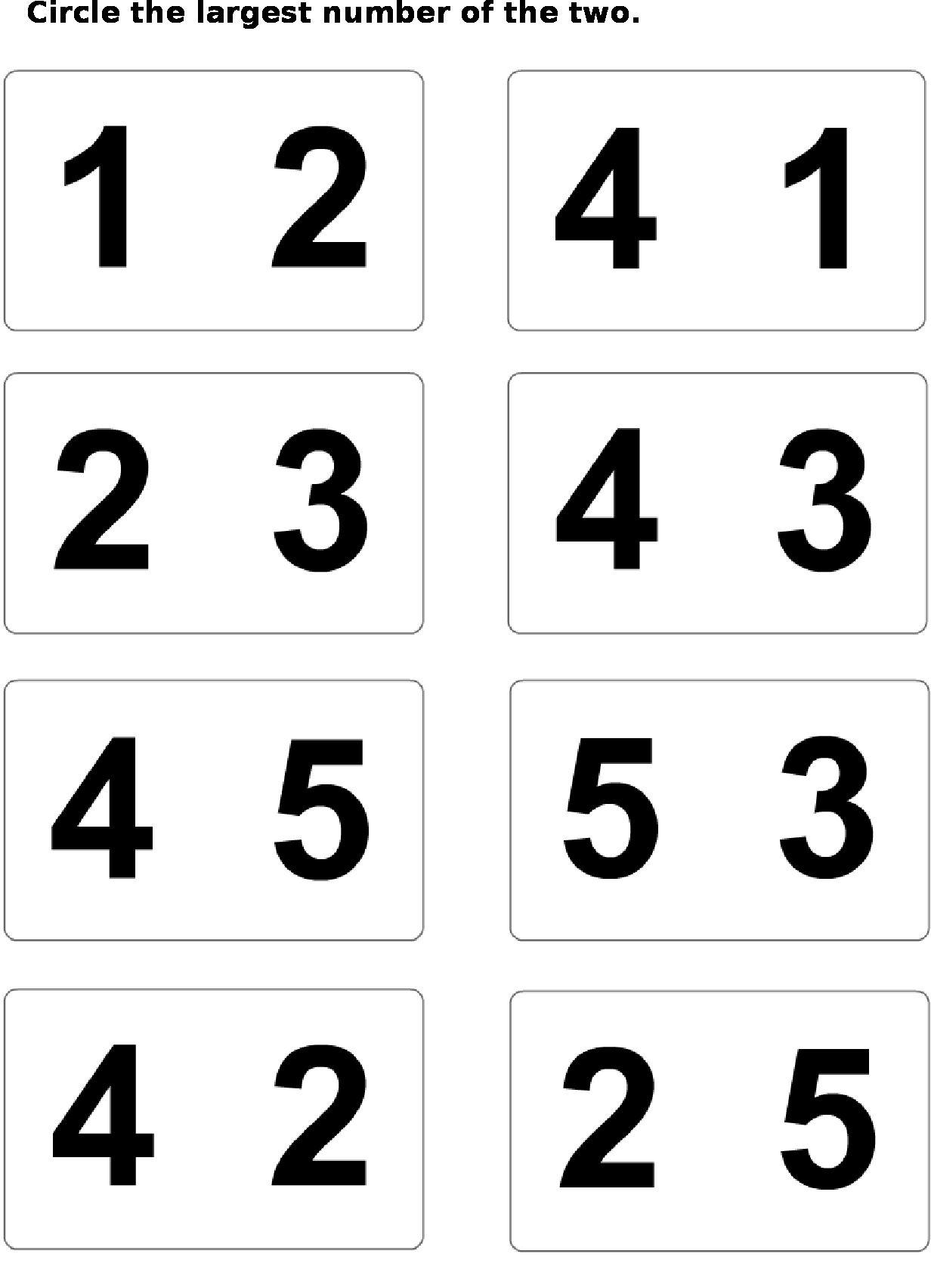 Number Worksheets Numbers Preschool Math [ 1703 x 1232 Pixel ]