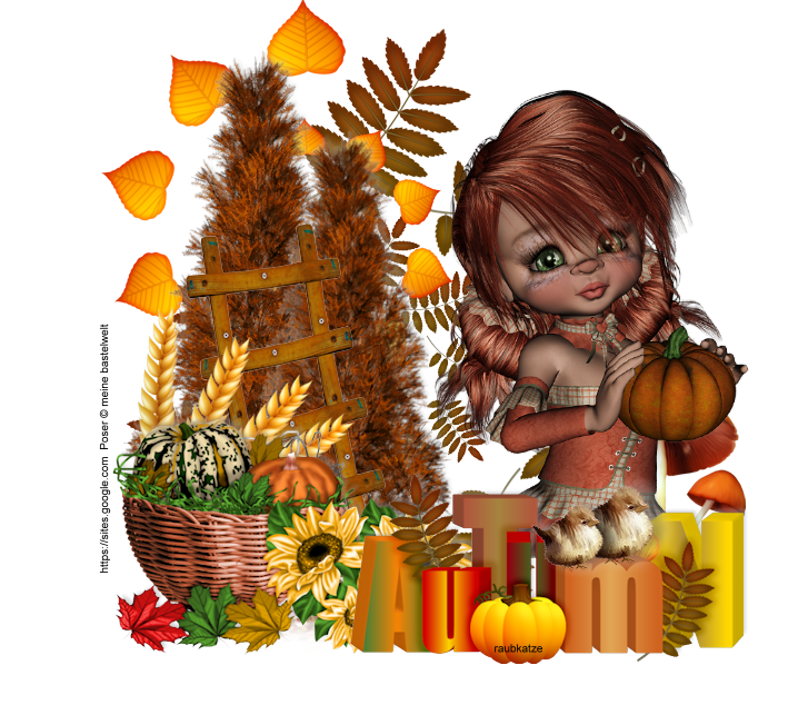 Vanoli hat einen Herbstspaziergang unternommen und kräftig im Laub gestöbert! TOLL ! ! ! Besucht einfach mal den tollen Blog von Van...