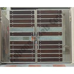Designer Stainless Steel Main Gates Ss Main Gate In 2019 Steel