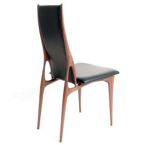 Issa High Back Dining Chair By Noriyuki Ebina. An Elegant Japanese  Iteration Of Scandinavian
