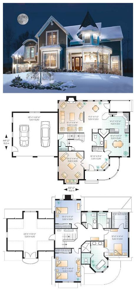 Rowena Houses/Stuff for the home Pinterest House, House goals - plan petite maison 70 m2
