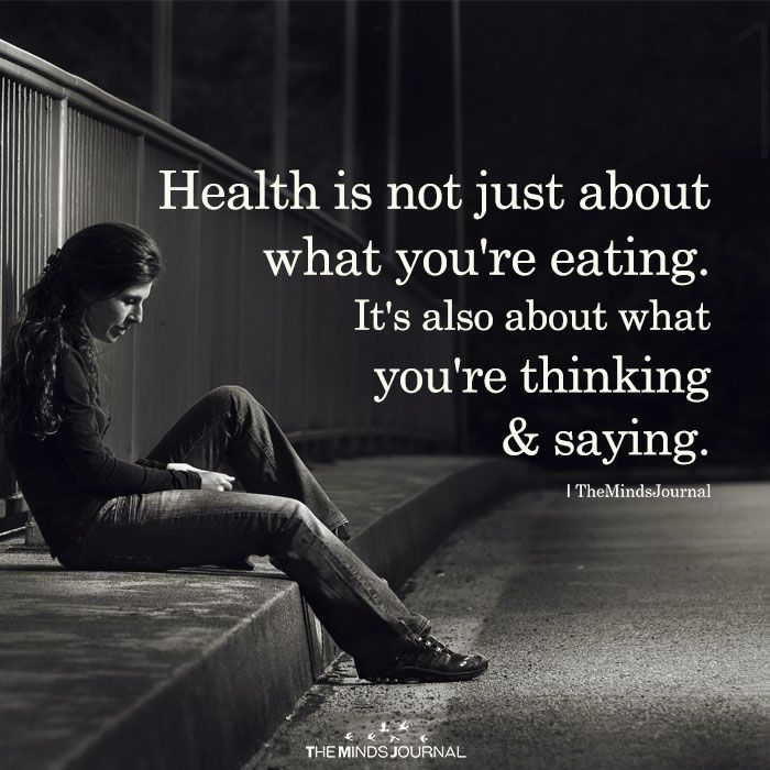 Health Is Not Just About What You're Eating
