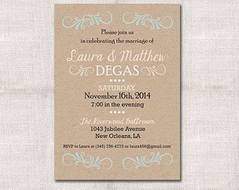 Wedding Reception Celebration After Party Invitation Custom - Post wedding invitation templates