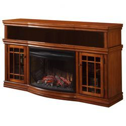"Menards Electric Fireplaces | Muskoka Dwyer 57"" TV Stand with Electric Fireplace"