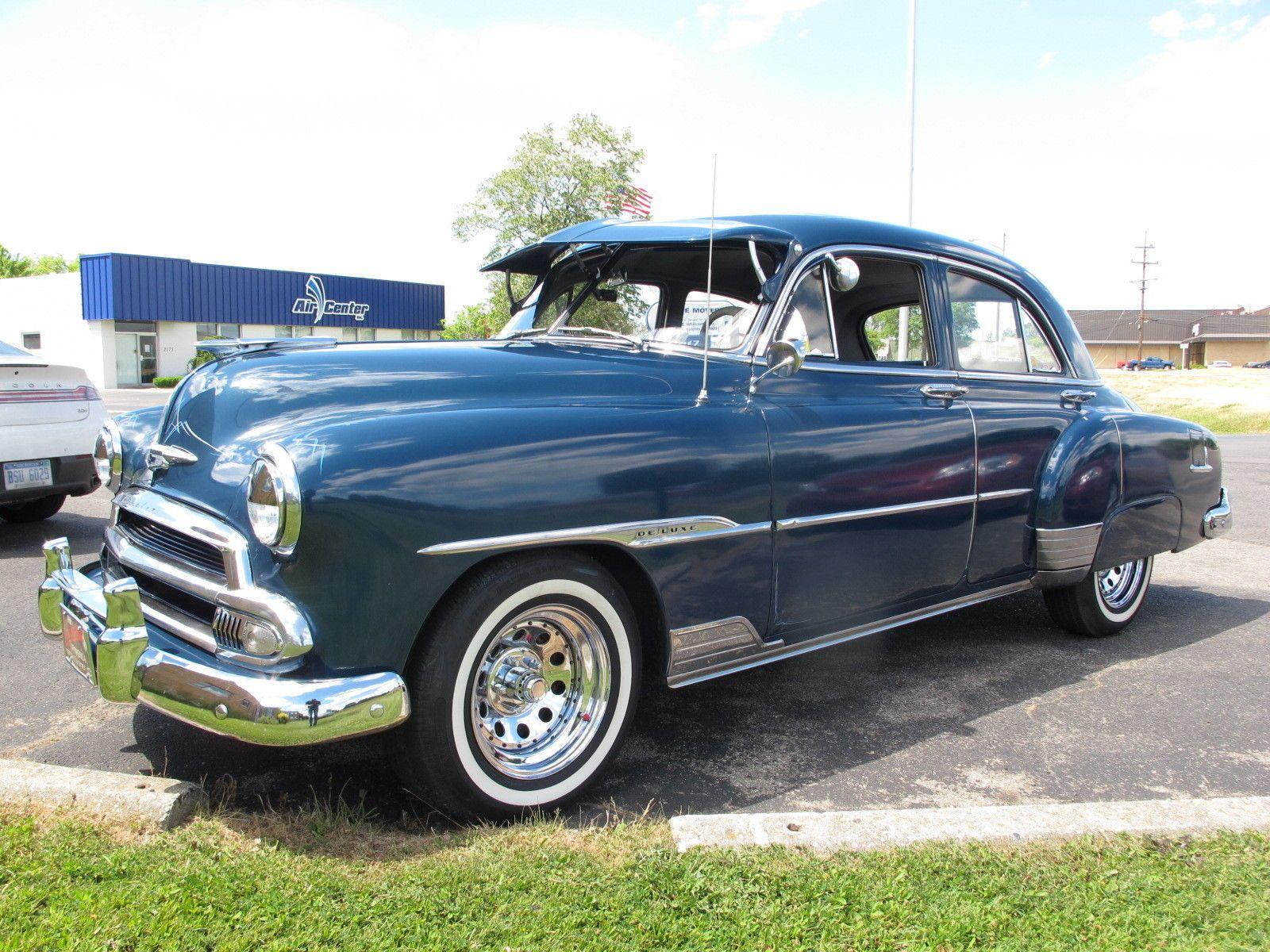Chevrolet: Other 1951 chevrolet deluxe 4 door 64 247 miles currently ...
