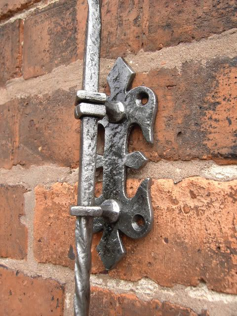 Large Gothic Antique Mechanical Front Door Bell Pull Llamadores O