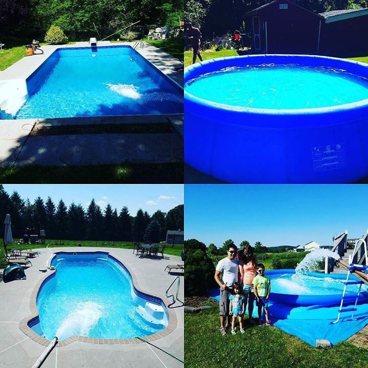 From blow up pools to inground pools go water king
