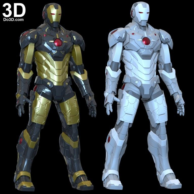 Do3d Com Page 5 Top Quality 3d Printable Models Design Print Files 3d Printable Models Iron Man Helmet Body Armor Suits