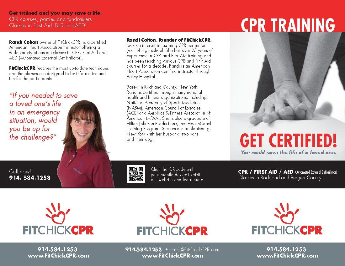 Cpr training company brochure fit chick fitness tri fold cpr training company brochure fit chick fitness tri fold brochure and flyer rapunzel 1betcityfo Gallery