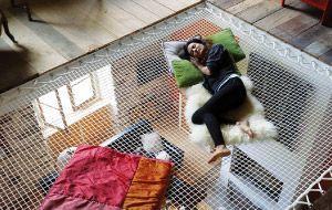 France Trampoline House nets