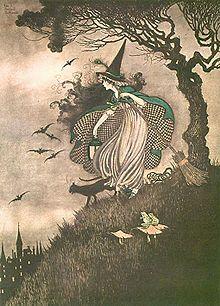 Ida Rentoul Outhwaite - Elves & Fairies #fairy_garden