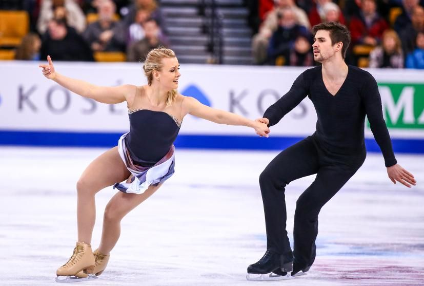 Hubbell & Donohue, US 6th in dance at worlds 2016